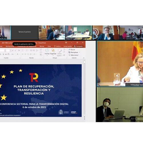 Asturias recibirá 7,3 millones de euros para cuatro proyectos de transformación digital
